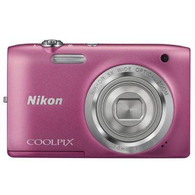 Компактный фотоаппарат Nikon Coolpix S2800/Pink [VNA573E1]