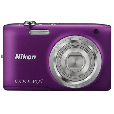 ���������� ����������� Nikon Coolpix S2800/Purple [VNA574E1]