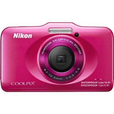 Компактный фотоаппарат Nikon Coolpix S31/Pink+рюкзак