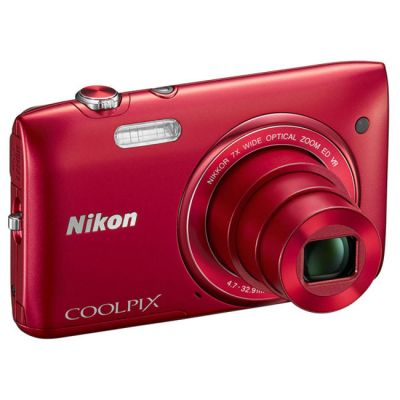���������� ����������� Nikon Coolpix S3500/Red [VNA292E1]