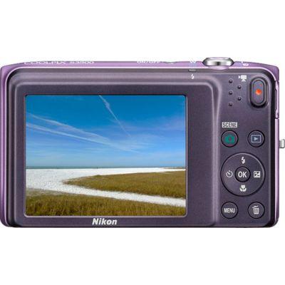 Компактный фотоаппарат Nikon Coolpix S3500/Purple [VNA293E1]