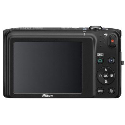 Компактный фотоаппарат Nikon Coolpix S3500/Black [VNA291E1]
