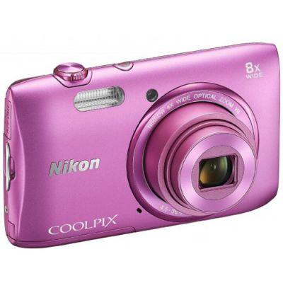 Компактный фотоаппарат Nikon Coolpix S3600/Pink [VNA554E1]