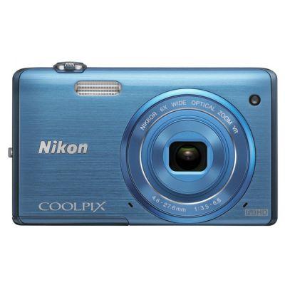 Компактный фотоаппарат Nikon Coolpix S5200/Blue [VNA283E1]