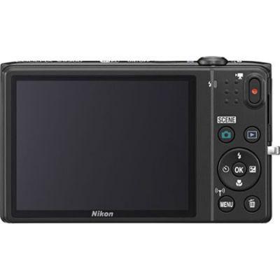 Компактный фотоаппарат Nikon Coolpix S5300/Black [VNA540E1]