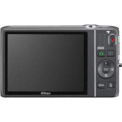 Компактный фотоаппарат Nikon Coolpix S6500/Silver [VNA270E1]