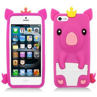 Hello Geeks �������� ��� iPhone 5/5s Pig Pink