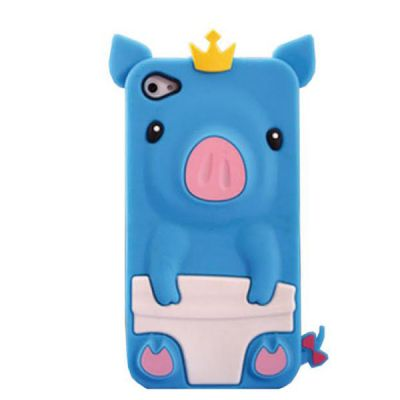 Hello Geeks �������� ��� iPhone 5/5s Pig Blue