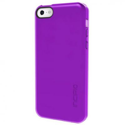 Incipio Клип-кейс для iPhone 5c Feather Clear прозрачно-фиолетовый IPH-1142-PRP
