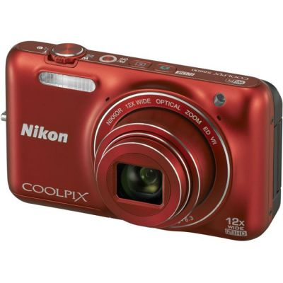 ���������� ����������� Nikon Coolpix S6600/Red [VNA441E1]