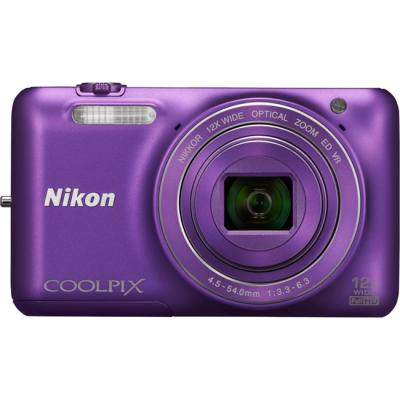 Компактный фотоаппарат Nikon Coolpix S6600/Purple [VNA443E1]