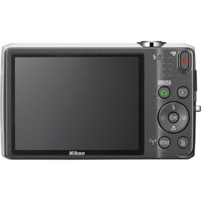 Компактный фотоаппарат Nikon Coolpix S6800/White [VNA522E1]