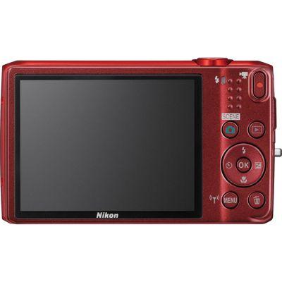 Компактный фотоаппарат Nikon Coolpix S6800/Red [VNA521E1]
