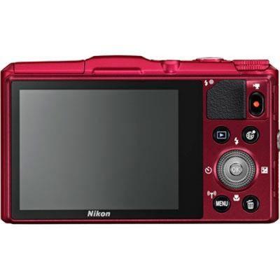 Компактный фотоаппарат Nikon Coolpix S9700/Red