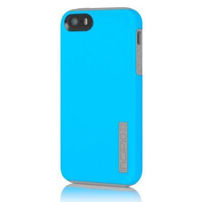 Incipio накладка для iPhone 5 Dual PRO Cyan Blue/Haze Gray IPH-820