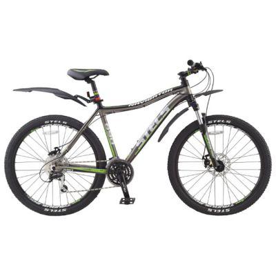 "Велосипед Stels Navigator 690 Disc (2014) 17"" серый"