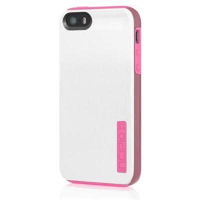 Incipio накладка для iPhone 5 Dual PRO Shine Optical White/Hot Pink IPH-878