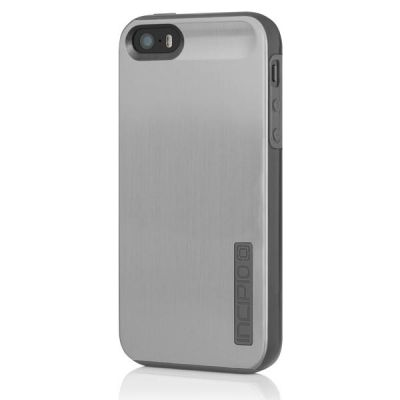 Incipio накладка для iPhone 5 Dual PRO Shine Titanium Silver/Graphite Gray IPH-876