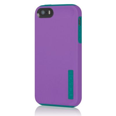 Incipio накладка для iPhone 5 Dual PRO Purple / Turquoise IPH-910