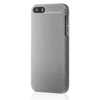 Incipio клип-кейс для iPhone 5 Feather CF Silver IPH-912