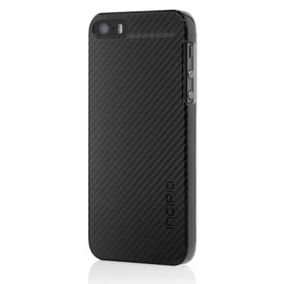 Incipio ����-���� ��� iPhone 5 Feather CF Black IPH-911