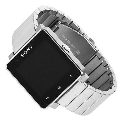 Sony Часы SmartWatch 2 SW2 (металлический ремешок, цвет титан)