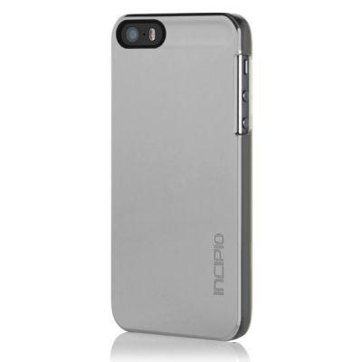 Incipio клип-кейс для iPhone 5 Feather Shine Chrome IPH-917