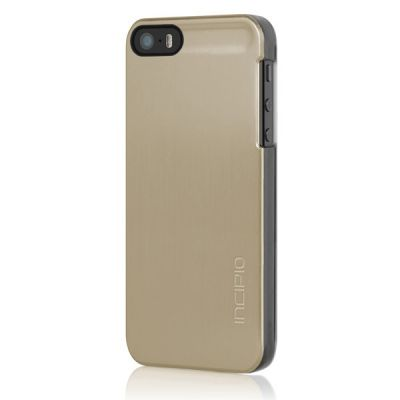 Incipio клип-кейс для iPhone 5 Feather Shine Gold IPH-915