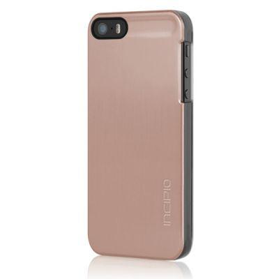 Incipio клип-кейс для iPhone 5/5S Feather Shine Rose Gold IPH-916