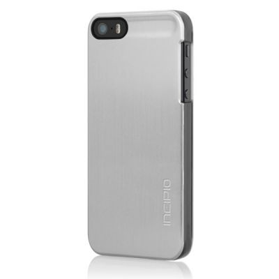 Incipio ����-���� ��� iPhone 5/5S Feather Shine Titanium Silver IPH-870