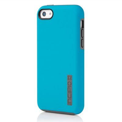 Incipio клип-кейс iPhone 5c DualPro Cyan/Gray IPH-1145-CYN