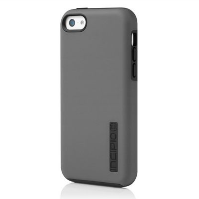 Incipio клип-кейс iPhone 5c DualPro Gray/Black IPH-1145-GRY