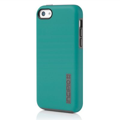 Incipio клип-кейс iPhone 5c DualPro Green/Gray IPH-1145-GRN