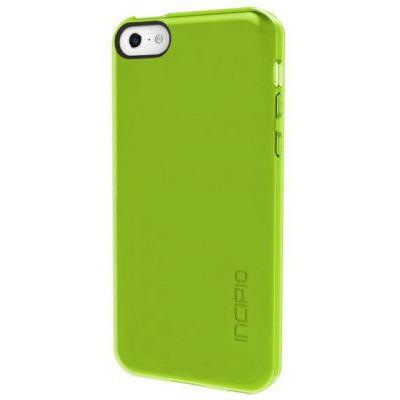 Incipio Клип-кейс для iPhone 5c Feather Clear прозрачно-лайм IPH-1142-LIM