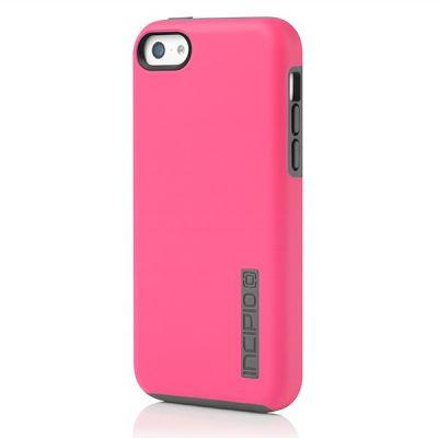Incipio клип-кейс iPhone 5c DualPro Pink/Gray IPH-1145-PNK