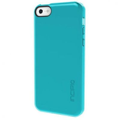 Чехол Incipio Клип-кейс для iPhone 5c Feather Clear Clear Turquoise IPH-1142-TRQ