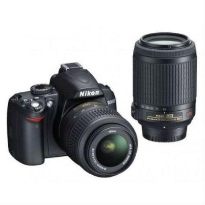 Зеркальный фотоаппарат Nikon D3100 kit 18-55 II + 55-200 vr [VBA280KR16]