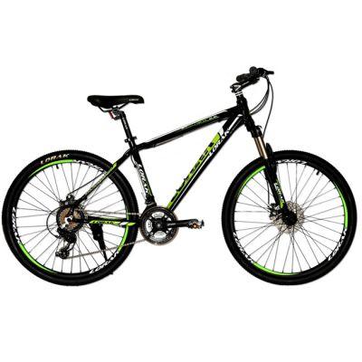 """Велосипед Lorak 2.0 17"""" черно - зеленый"""