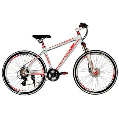 """Велосипед Lorak 3.0 19"""" красно - белый"""