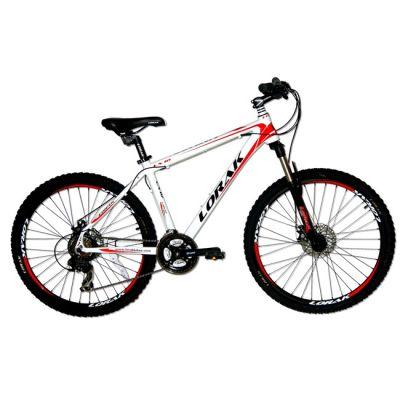 """Велосипед Lorak LX 10 21"""" бело - красный"""