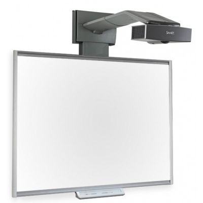 SMART Technologies �������� SMART Board SBM680 � ��������� ������ � ���������� SMART UF65