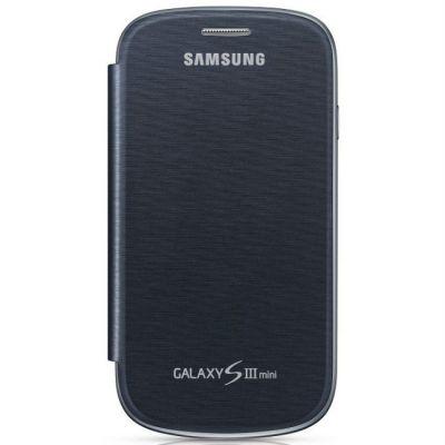 Чехол Samsung для Galaxy S III Mini GT-I8190 (синий) EFC-1M7FBEGSER