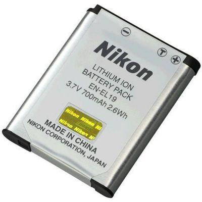 Аккумулятор Nikon EN-EL19 600mAh 3.7V Li-Ion VFB11101