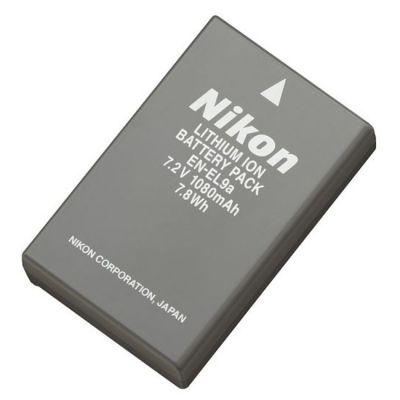 Аккумулятор Nikon EN-EL9a 1080mAh 7.2V Li-Ion VFB10201