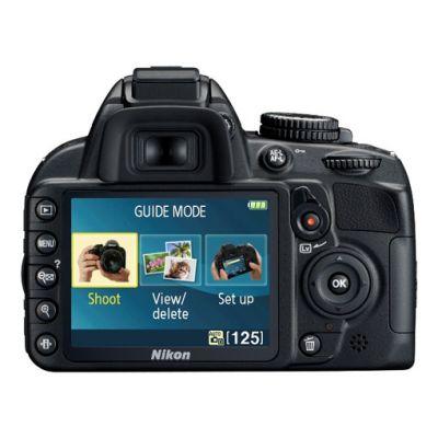 Зеркальный фотоаппарат Nikon D3100 kit 18-55VR / 55-300VR [VBA280KR09]