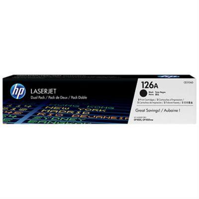 Картридж HP 126A Black/Черный, упаковка 2 шт. (CE310AD)