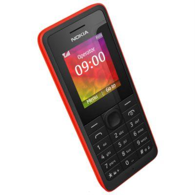 Телефон Nokia 106 (красный)