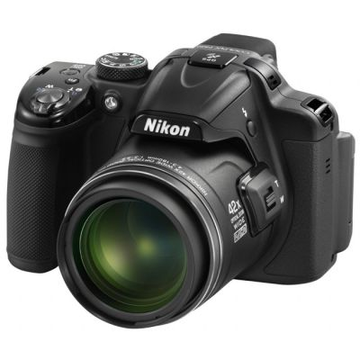 Компактный фотоаппарат Nikon Coolpix P520/Black [VNA251E1]
