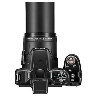Компактный фотоаппарат Nikon Coolpix P530/Black [VNA640E1]