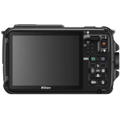 Компактный фотоаппарат Nikon Coolpix AW110/Black [VNA311E1]